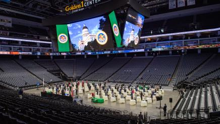 California State Assembly Swearing-In at Golden One Center